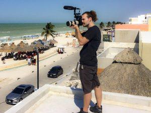 Daniel Pike on Roof Top